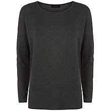 Buy Jaeger Ponte T Shirt, Charcoal Online at johnlewis.com