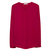 Buy Mango Decorative Pleat Blouse Online at johnlewis.com
