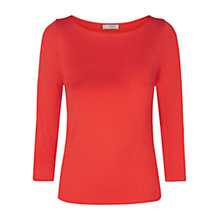Buy Hobbs Sonya Top, Marigold Orange Online at johnlewis.com