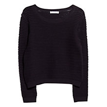 Buy Mango Chunky Knit Cotton Jumper Online at johnlewis.com