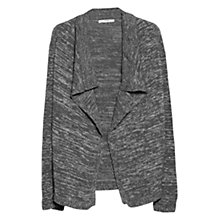 Buy Mango Metal Thread Cardigan, Navy Online at johnlewis.com