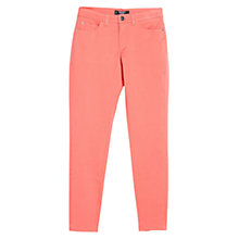 Buy Mango Slim-Fit Cotton Trousers Online at johnlewis.com