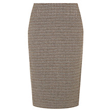 Buy Hobbs Jenna Skirt, Natural Online at johnlewis.com