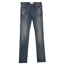 Buy Mango Slim Fit Alice Jeans, Navy Online at johnlewis.com