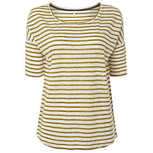 Buy White Stuff Fusion Stripe Tee, Pineapple Online at johnlewis.com