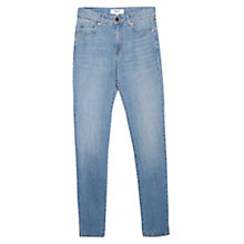 Buy Mango Slim-Fit London Jeans, Pastel Blue Online at johnlewis.com