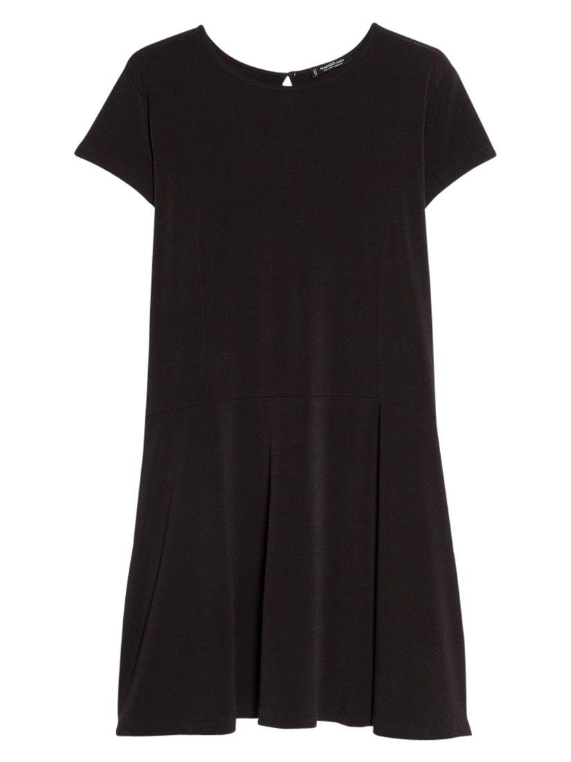 mango flared keyhole dress black, mango, flared, keyhole, dress, black, 6|10|12|8|14, women, womens dresses, 1931475
