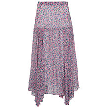Buy French Connection Water Garden Skirt, Pink Multi Online at johnlewis.com