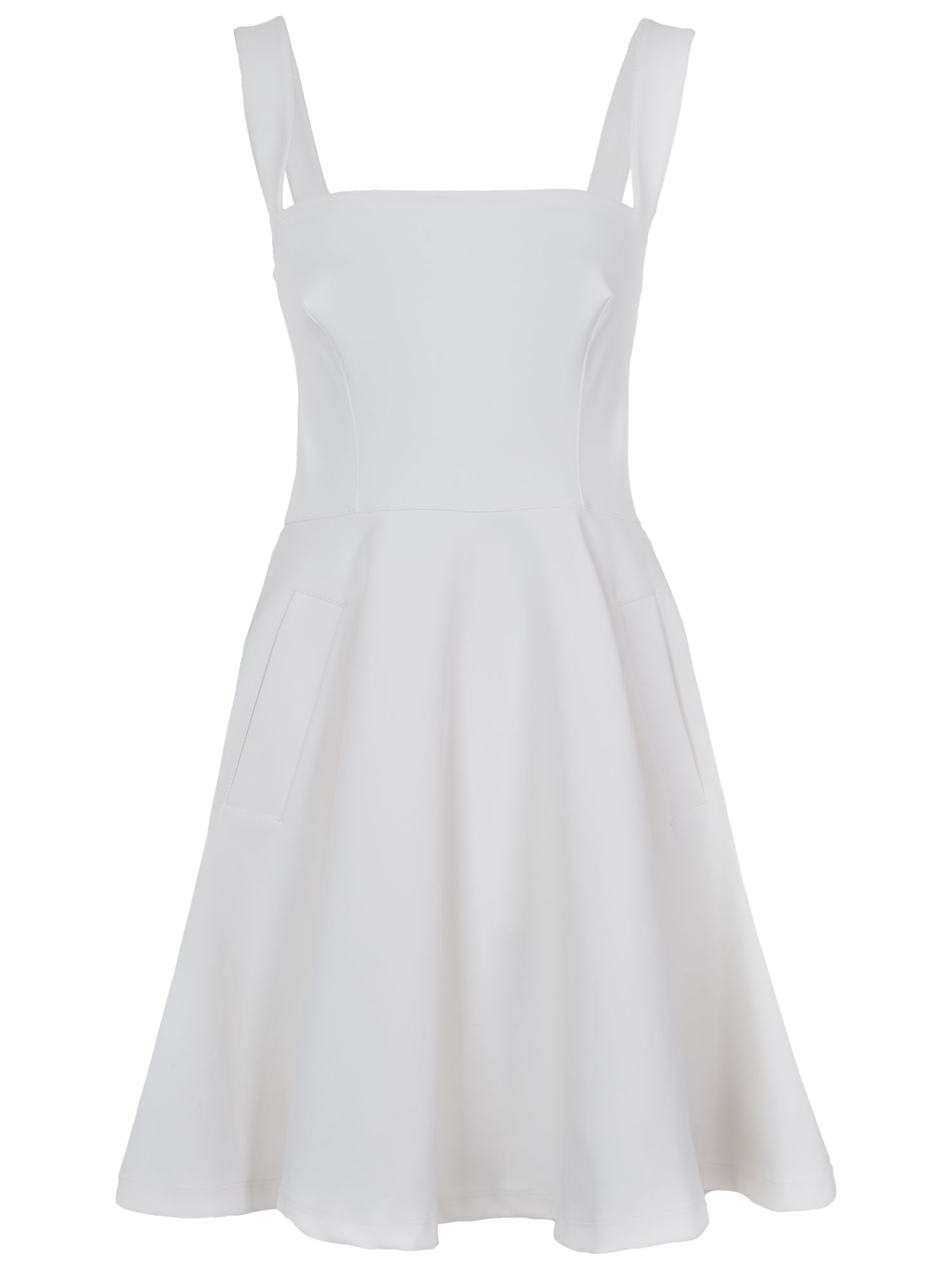 french connection sophia scuba strappy dress summer white, french, connection, sophia, scuba, strappy, dress, summer, white, french connection, 14|10|16|8|12|6, women, womens dresses, 1933226