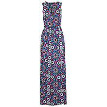 Buy French Connection Mosaic Asia Maxi Dress, Electric Blue Multi Online at johnlewis.com