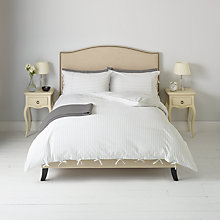 Buy John Lewis Ticking Stripe Pale Pacific Set Online at johnlewis.com