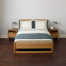 Buy John Lewis Skyler Stripe Duvet Cover and Pillowcase Set Online at johnlewis.com