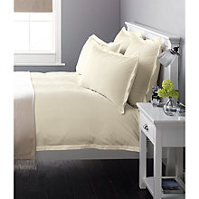 Buy John Lewis Baby Seersucker Bedding, Cream Online at johnlewis.com