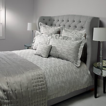 Buy John Lewis Denton Bedding, Grey Online at johnlewis.com