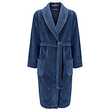 Buy Tommy Hilfiger Towel Robe, Blue Online at johnlewis.com