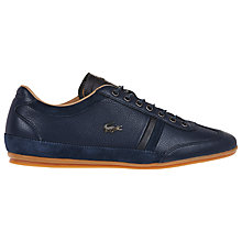 Buy Lacoste Misano Leather Trainers Online at johnlewis.com