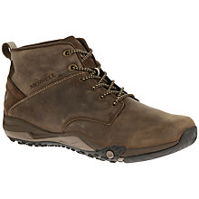 Buy Merrell Helixer Morph Chukka Boots, Clay Online at johnlewis.com