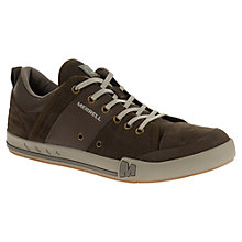 Buy Merrell Rant Dash Suede Trainers, Black Slate Online at johnlewis.com