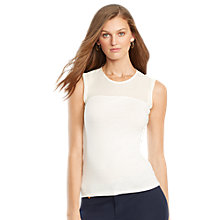 Buy Lauren Ralph Lauren Jersey Top Online at johnlewis.com