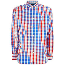 Buy Jaeger Offset Gingham Regular Shirt Online at johnlewis.com