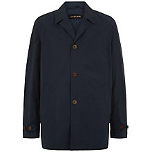 Buy Jaeger Casual Relaxed Mac, Navy Online at johnlewis.com