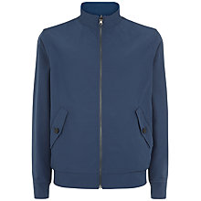 Buy Jaeger Reversible Harrington Jacket, Navy/Bright Blue Online at johnlewis.com