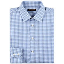 Buy Jaeger Bold Check Shirt, Blue Online at johnlewis.com