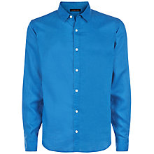 Buy Jaeger Plain Linen Shirt Online at johnlewis.com