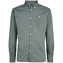 Buy Jaeger Micro Gingham Regular Shirt Online at johnlewis.com