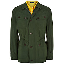 Buy Jaeger Travel Jacket, Army Online at johnlewis.com
