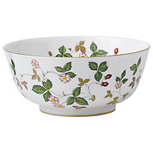 Buy Wedgwood Wild Strawberry Salad Bowl Online at johnlewis.com