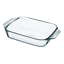 Buy Pyrex Optimum Glass Rectangular Roaster Online at johnlewis.com