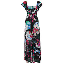 Buy French Connection Floral Reef Maxi Dress, Black Multi Online at johnlewis.com