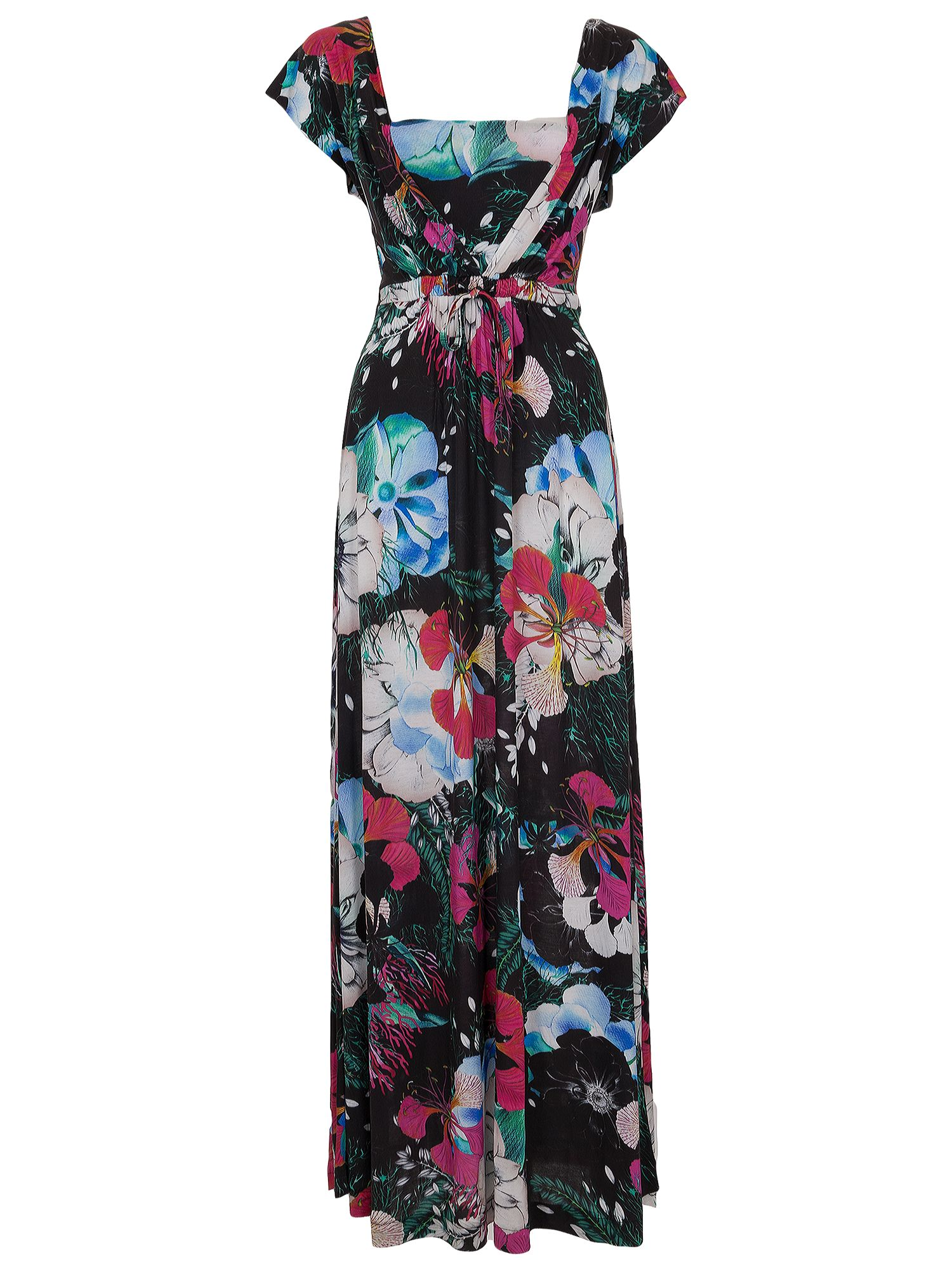 french connection floral reef maxi dress black multi, french, connection, floral, reef, maxi, dress, black, multi, french connection, 16|12|6|10|14|8, women, womens dresses, 1933157
