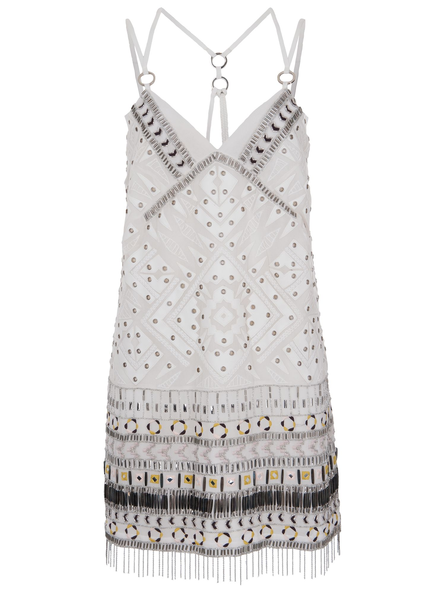 french connection cerro beaded dress porcelain, french, connection, cerro, beaded, dress, porcelain, french connection, 10|12|14|16|8|6, women, womens dresses, 1933192