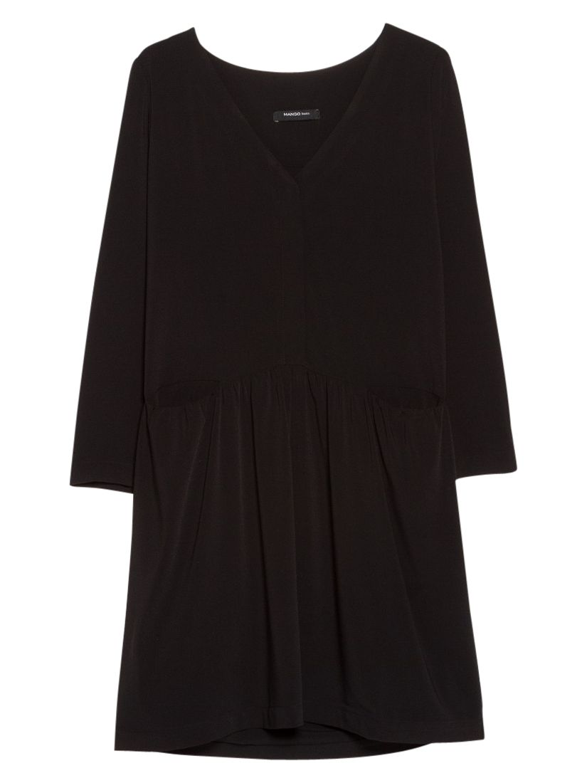 mango flared shirt dress black, mango, flared, shirt, dress, black, 6|10|12|14|8, women, womens dresses, 1933809