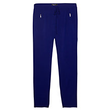 Buy Mango Baggy Zip Detail Trousers Online at johnlewis.com