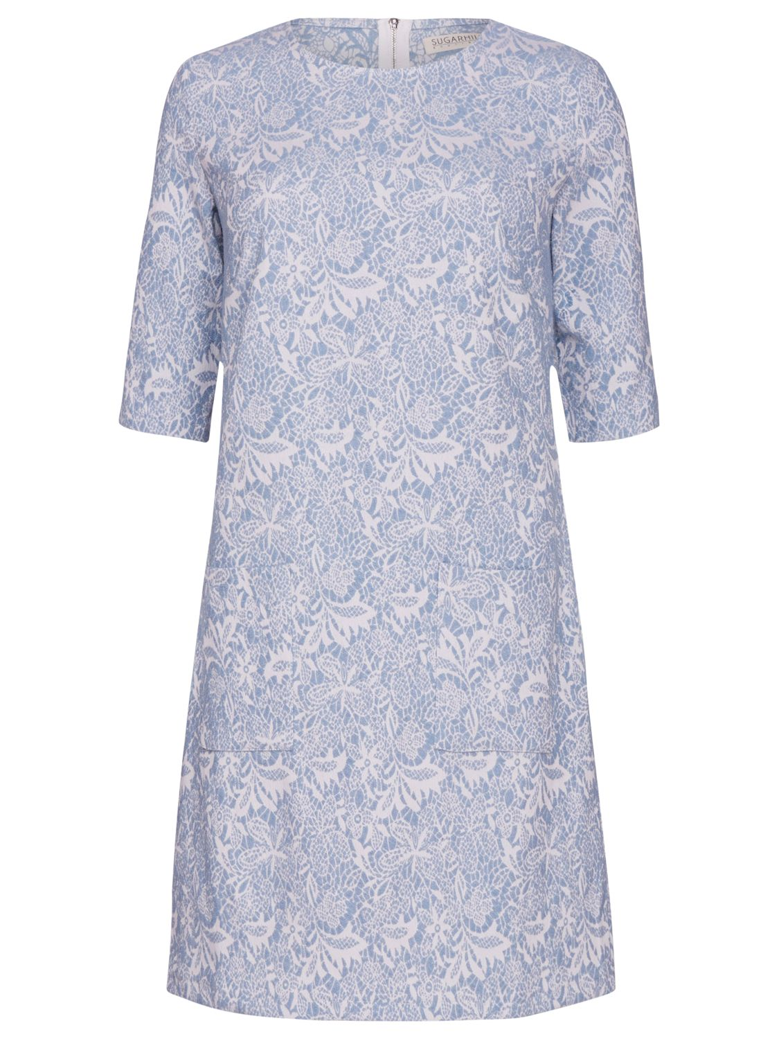 sugarhill boutique floral jacquard tunic dress blue, sugarhill, boutique, floral, jacquard, tunic, dress, blue, sugarhill boutique, 8|12|16|14|10, women, womens dresses, gifts, wedding, wedding clothing, female guests, 1933539