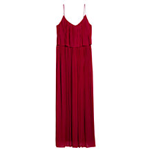 Buy Mango Long Pleated Dress Online at johnlewis.com