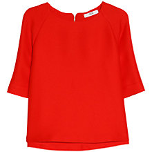 Buy Mango Textured Top Online at johnlewis.com