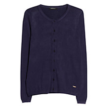 Buy Mango Embossed Polka Dot Cardigan Online at johnlewis.com