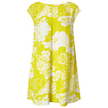 Buy Phase Eight Katarina Floral Dress, Charteuse Online at johnlewis.com