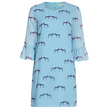 Buy Sugarhill Boutique Zebra Print Tunic Dress, Green Online at johnlewis.com
