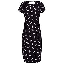 Buy Sugarhill Boutique Pineapple Dress, Black/Off White Online at johnlewis.com