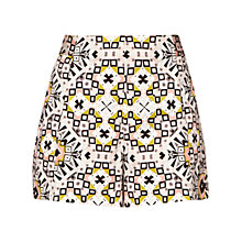 Buy French Connection Electric Mosaic Shorts, Anemone Multi Online at johnlewis.com