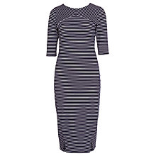 Buy Sugarhill Boutique Melissa Striped Bodycon Dress, Navy/White Online at johnlewis.com