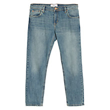 Buy Mango Slim-Fit Cropped Nancy Jeans Online at johnlewis.com