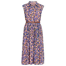 Buy Sugarhill Boutique Charlie Watercolour Dress, Pink/Multi Online at johnlewis.com