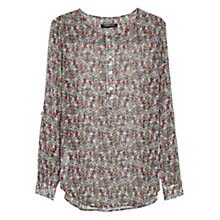 Buy Mango Printed Chiffon Blouse Online at johnlewis.com
