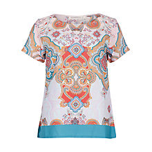 Buy Sugarhill Boutique Paisley Print T-Shirt, Multi Online at johnlewis.com